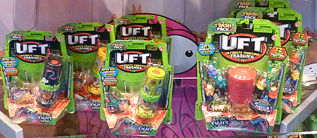 UFT Ultimate Fighting Trashies Toys