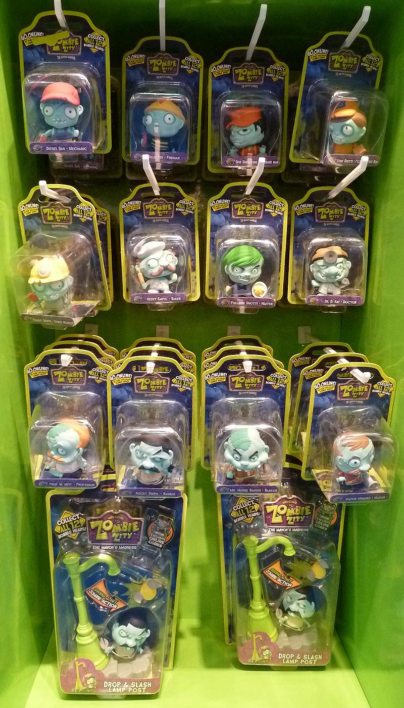 Zombie Zity Bobblehead Toys