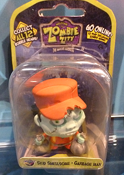 Zombie Zity Bobble Head Figures