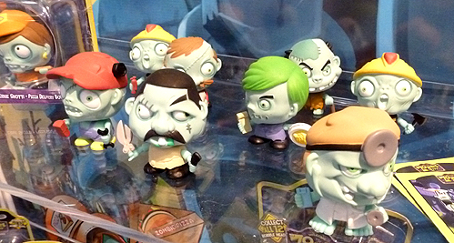 Zombie Zity Bobble Head Toys